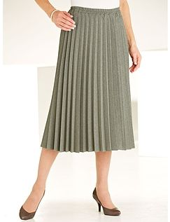 Sunray Pleated Skirt Length 27