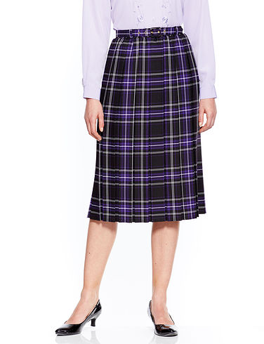 Box Pleat Skirt (25 inches)