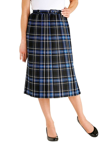 Ladies Box Pleat Skirt (length 27 inches)