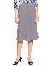 Jersey Pannelled Skirt 25 Inch Length