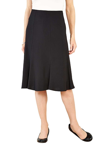Jersey Panel Skirt - 27 inches