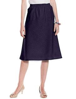 Linen Look Skirt