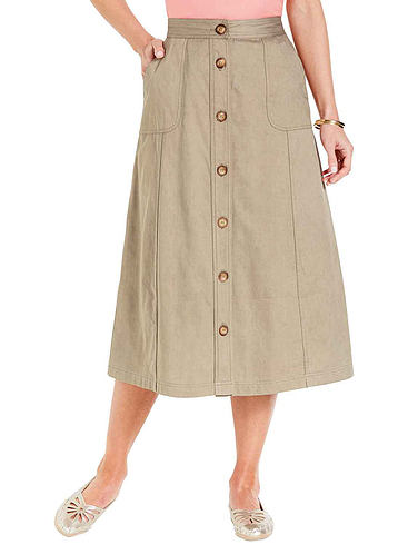 Ladies' Button Through Skirt