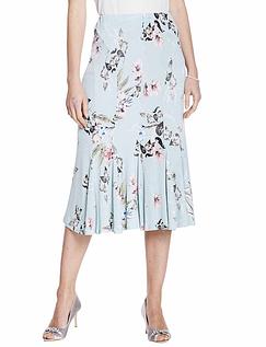 Godet Panelled Skirt