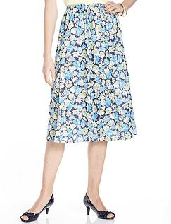 Print Full Circle Skirt