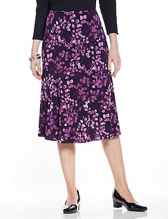 Curved Seam Skirt - Length 27 inches