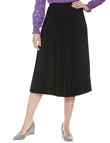 Sunray Permanent Pleat Jersey Skirt