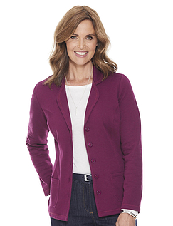 Jersey Button Jacket