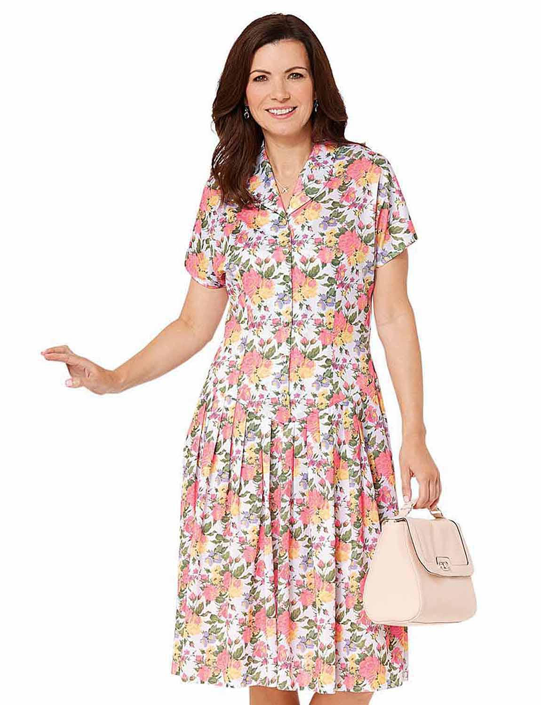 Drop Waist Dress 40 Inches - Ladieswear Dresses