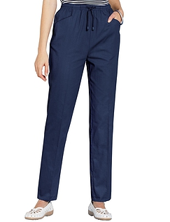 Womens Elasticated Waist Trousers - Chums