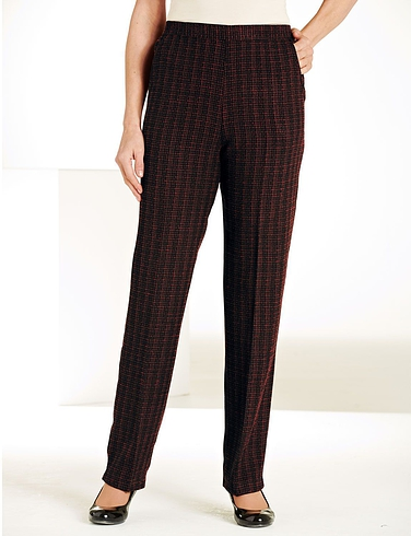 Two Tone Check Trousers