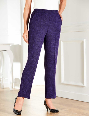 Tweed Effect Trouser