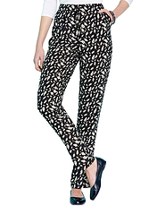 Viscose Print Trousers