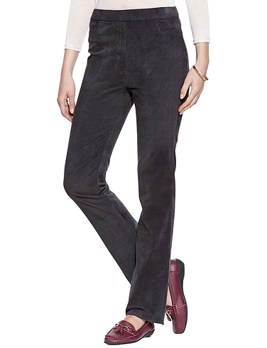 Pull On Stretch Cord Trouser