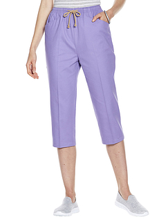 Cotton Crop Trouser 21 Inches