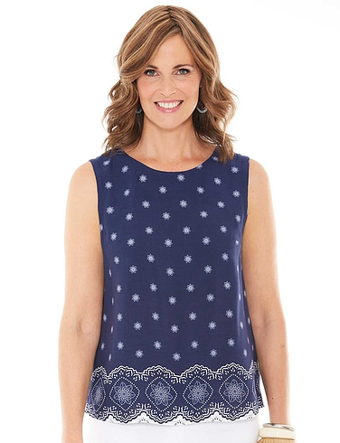 Viscose Woven Ladies Top