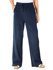 Linen Mix Trousers