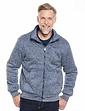 Zip Through Fleece With Plush Fleece Lining