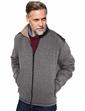 Herringbone Bonded Fleece Zipper