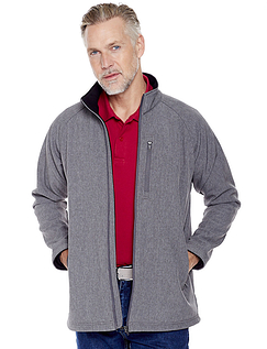 Bonded Water Resistant Stretch Zip Jacket