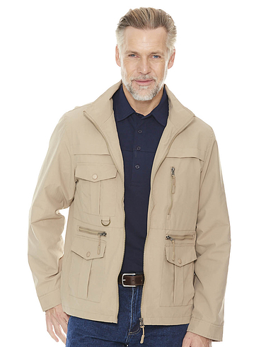 Pegasus Mens Lightweight Multi Pocket Travel Jacket