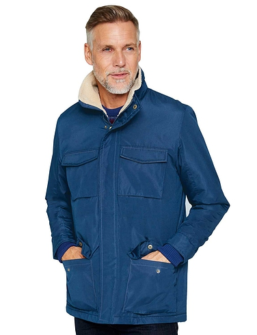 Pegasus Sherpa Fleece Lined Cargo Jacket