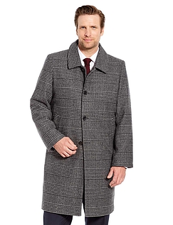 Wool Touch Overcoat