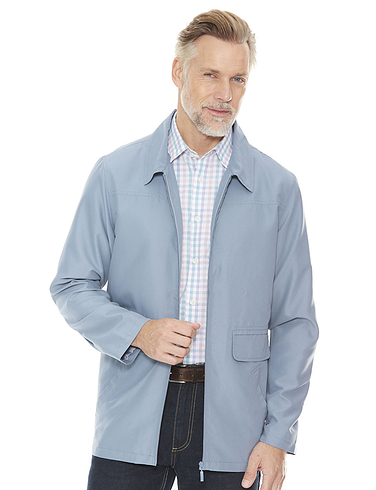 Soft Touch Mid-Length Mens Summer Jacket