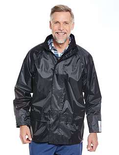 Mens Waterproof Jacket - Black
