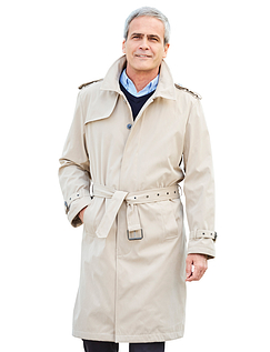 Trench Style Raincoat