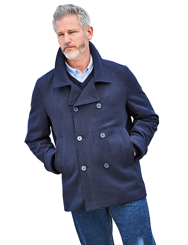 Pegasus Wool touch Reefer Style Jacket