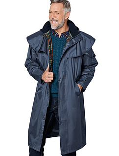 Champion Fully Waterproof Huntsman Coat - Navy