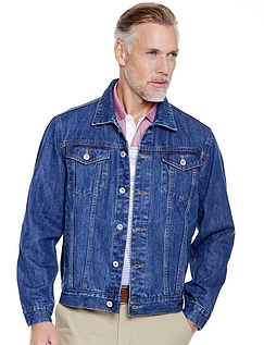 Western Denim Jacket - Blue