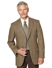 Herringbone Weave Tailored Jacket