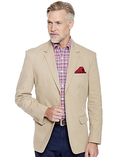 Cotton Blazer By Pegasus- Shorter Fitting