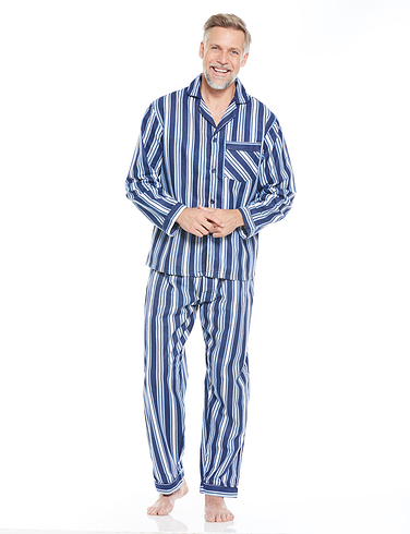 Brushed Cotton Stripe Pyjama