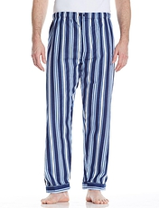 Brushed Cotton Stripe 2 Pack Pant