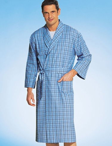 TOOTAL COTTON DRESSING GOWN