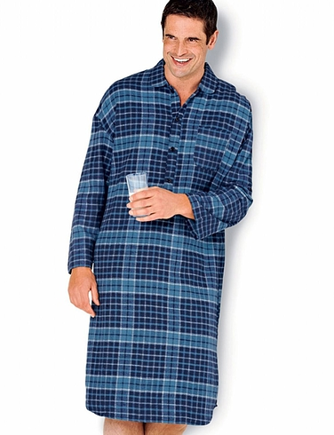 TOOTAL LUXURY CHECK NIGHTSHIRT