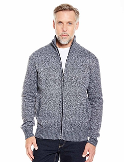 Full Zip Fleece Lined Zipper