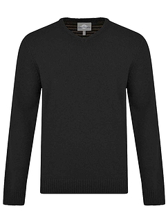 Peter Gribby Lambswool V Neck Sweater