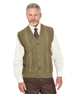 Tootal Button Front Knitwear Waistcoat