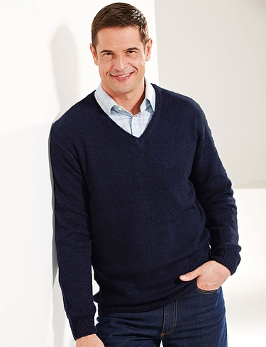 Tootal Lambswool V-Neck Sweater