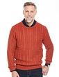Pegasus Shetland Wool Cable Sweater