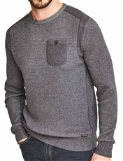 Crew Neck Sweater With Pocket