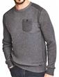Crew Neck Sweater With Pocket