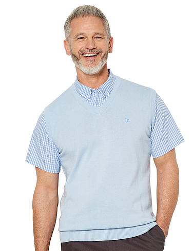 2-In-1 Short Sleeve Slipover