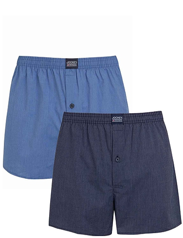 Pack of 2 Jockey Woven Boxers