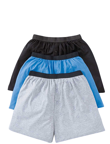 Pack of 3 Knitted Boxer Short