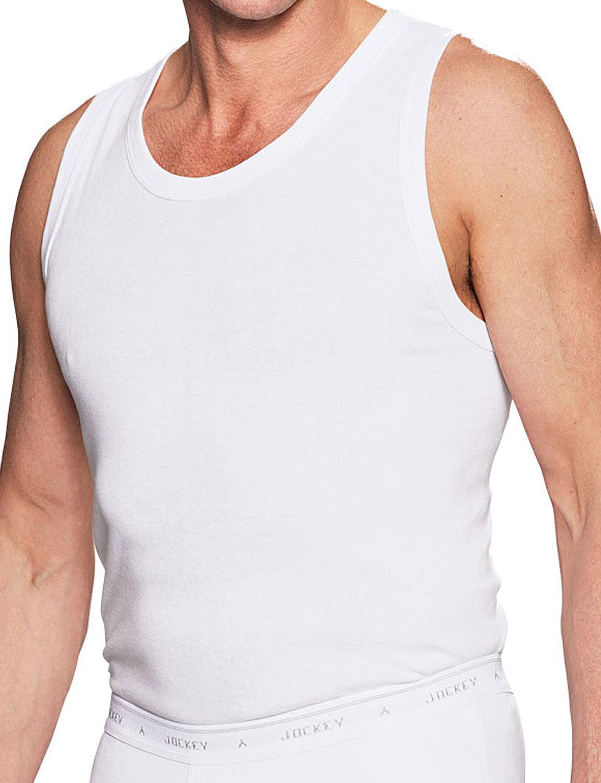 Jockey 3 Pack Of Mens Vests | Chums